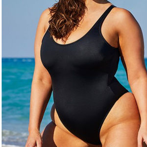 Ashley Graham cheeky HOTSHOT 1pc swimsuit 90m3*